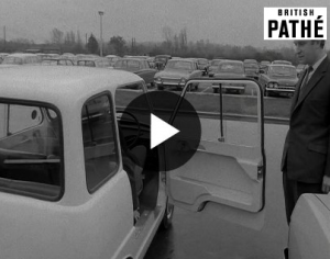 Electric Cars - Pathe 1966